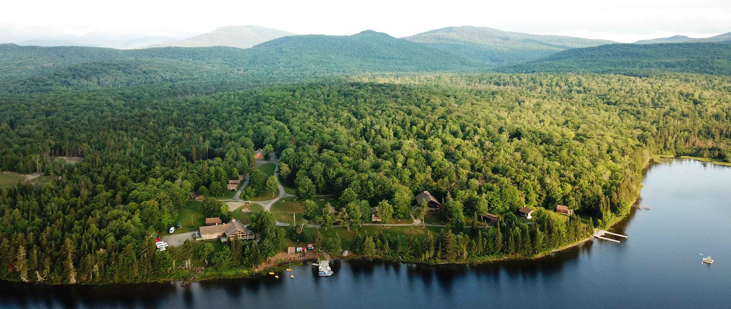 Aerial of Moose River Outpost