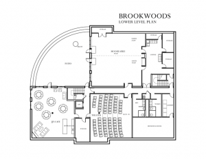conference center layouts brookwoods lower level