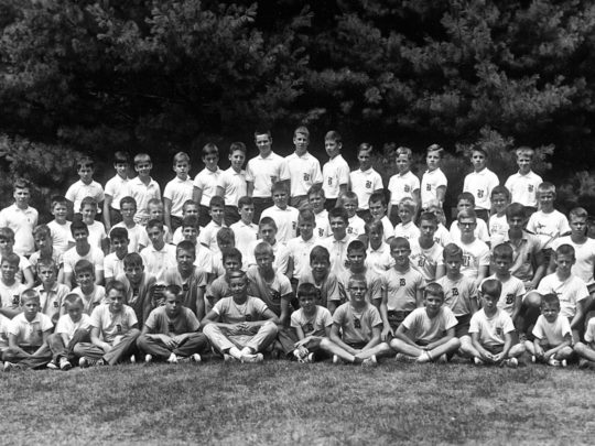 Brookwoods group photo from 1964