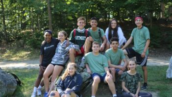 Group of campers